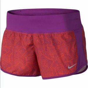 Nike Dri-Fit Geometric Drawstring Running Shorts